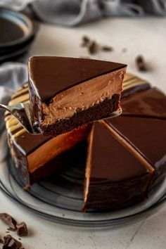 Easy Chocolate Mousse, Chocolate Mud Cake, Chocolate Desserts, Chocolate Decadence Cake Recipe, Delicious Chocolate Cake, Chocolate Cookies, Baking Recipes, Cake Recipes, Dessert Recipes