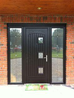 """Palladio Composite """"Paris"""" Door in Bog Oak"""