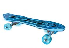 This stylish longline board is easy to control and is completely motion powered so there are no batteries needed. Featuring ultra-bright LED wheels that are visible through its cool transparent deck! $59.99