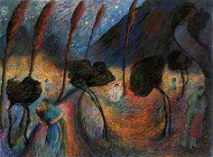 marianne von werefkin paintings | Werefkin, Marianne (1860-1938) - 1917c. Love Eddy | Flickr - Photo ...