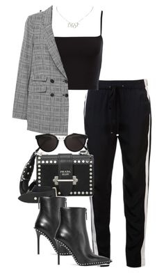 """""""Untitled #4604"""" by theeuropeancloset ❤ liked on Polyvore featuring 3.1 Phillip Lim, Prada, Alexander Wang, RetroSuperFuture and Christian Dior"""