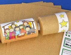 Dress it up 7473 nativity dress it up httpsamazondp 8 kraft kids christian nativity christmas make fill your own crackers kit solutioingenieria Choice Image