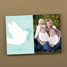 Carrying Peace Photo Holiday Card