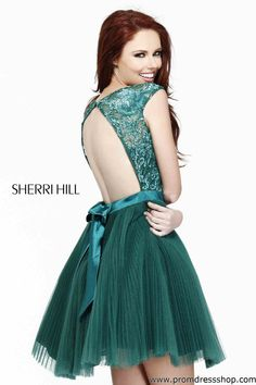 Sherri Hill's 2014 Prom Dress | Sherri-Hill-Short-Prom-Dresses-2012-Sherri_Hill_21167_emerald_21167 ...