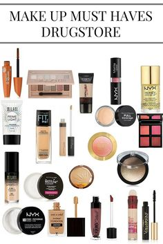 Makeup Must Haves (Drugstore Edition) – Silly Crazy Mama