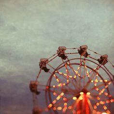 I wish I was always on a ferris wheel!