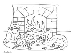 Winter Coloring Pages 3 Kids For Free Printable Childlife Me Page
