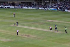 The cricket ground