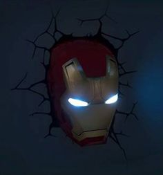 Ironman wall light