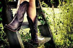 cowboy boots rock.