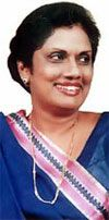 14.11.1994-19.11.2005 Executive President Chandrika Bandaranaike Kumaratunga, Sri Lanka   Vice-President 1984-86 and President of Sri Lanka Maha Jana Party 1984-86, Leader of United Socialist Alliance 1988 and since 1993 Leader of People's Alliance and Deputy Leader of Sri Lanka Freedom Party, 1993-94 Chief Minister of the Colombo Province and in a few months in 1994 Prime Minister. As Executive President she was also Commander-in-Chief of the Armed Forces and held the Portfolio of Defence…