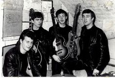The Beatles in The Cavern club Liverpool.
