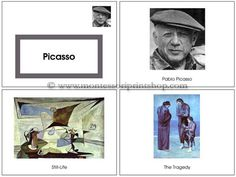 Pablo Picasso Art Book - Free printable