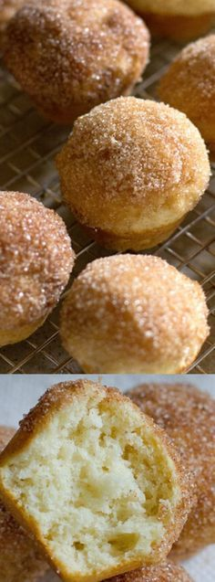 These Mini Cinnamon Sugar Doughnut Muffins from Life Made Simple are a quick and easy recipe to make for your family when they are wanting something sweet and delicious!