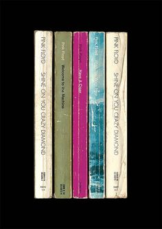 Pink Floyd's album 'Wish You Were Here' as if it had been written as novels instead of songs.