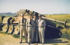 Tiger tank in Tunisia 1943, pin by Paolo Marzioli