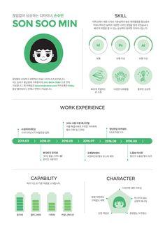 이력서 디자인 - 그래픽 디자인, 브랜딩/편집