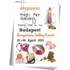 Spring exhibition Budapest by erika-hodi on Polyvore featuring etsy, handmade and hetsellingevent