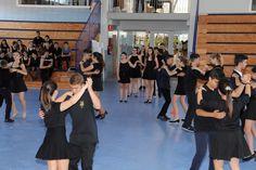 Bailes de salón en la Fiesta de Fin de Curso de #ColegiosISP  #SecundariaISP
