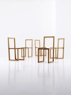 Bahk Jong Sun est un designer né en 1969 qui vit et travaille à Wonju en Corée du Sud. Mondialement connu pour ses meubles en bois au dessin géométrique et
