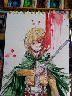 Armin Arlert - Attack on Titan - By Namiren on Tumblr