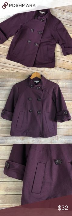 """Cabi Terry Topper Double Breasted Jacket Good used condition. Size XS. Approx measurements blow.  Pit to pit: 17"""" Length: 20"""" CAbi Jackets & Coats"""