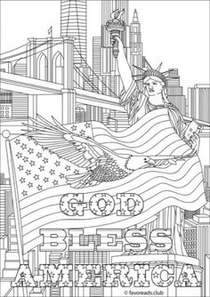 free printable fourth of july coloring pages - Abbi Jacobson Coloring Book