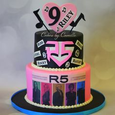 R5 Birthday Cake  Cakes by Camille