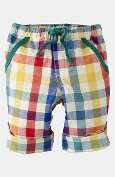 Adorable! Can't wait for my spring orders to arrive! Mini Boden 'Roll Up' Pants (Infant) available at #Nordstrom