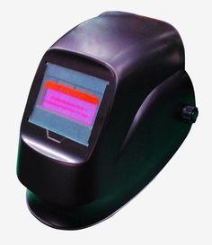 Solar auto darkening Simple purple depth gentleman MIG TIG MMA electric welding mask / helmet / welder cap / lens