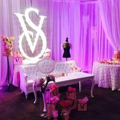 Victoria Secret Party, Decor, Ideas Aniversario, Party, Decoration, Decorating, Deco
