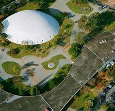 Ibirapuera park (Brasil)  The Oca (Niemeyer)