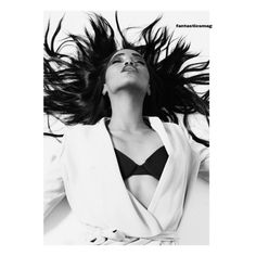 Genesis ❤ liked on Polyvore featuring people, models, backgrounds and magazine
