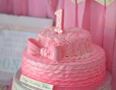"""Ruffles and Bows / Birthday """"Juliana's First Birthday"""" 