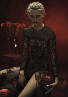 Codie Young by Rory Payne for Twin Magazine #11 Fall Winter 2014-2015