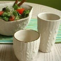 knit inspired ceramics