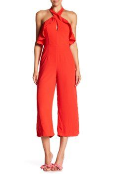 f79fd3a1846f Do + Be - Cropped Woven Jumpsuit  35 Designer Jumpsuits