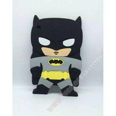 Carcasa Batman para Ipad 2, 3 y 4 diseño muñeco 3D de silicona