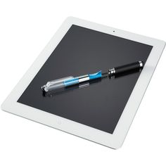 Stylus and cleaning cloth inside. Two in one. Min order 60. Email me to order wendy@liteam.com