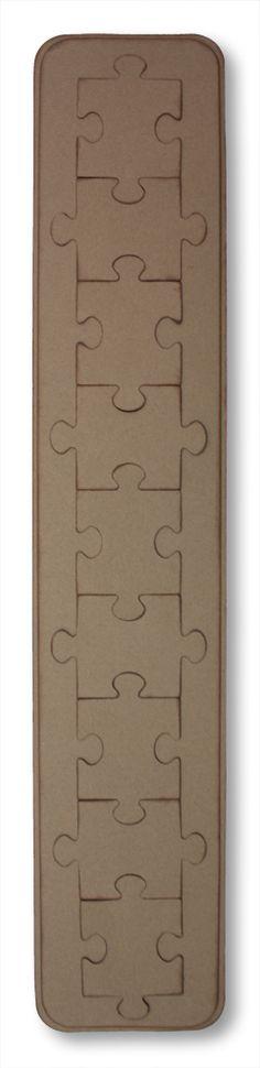Puzzle Maker Chalking Ink Border Idea