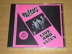 POLECATS - Live and Rockin' - CD Rockabilly Mini Album