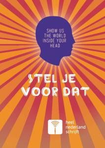 Uitgekotst  op shortlist verhalenbundel Stel je voor dat  Heel Nederland schrijft – september 2016