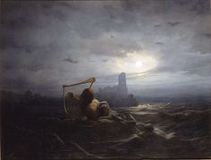Les neuf filles d'Ægir, le géant de la mer, et de son épouse Rán sont la personnifications des vagues. Le Nixe et les filles d'Ægir ont été représentés par le peintre suédois Nils Blommér (1850). Pour en savoir plus : http://www.fafnir.fr/filles-d-aegir.html.