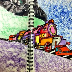 Visual Journals #2 - room 416 art!