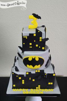 Vampish Birthday Cake