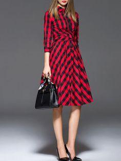 Designer Midi Dresses|Unique Fashion Midi Dresses|New Style-Stylewe 3