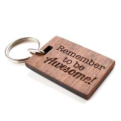 awesome keyring by made lovingly made | notonthehighstreet.com