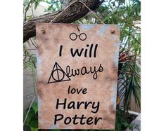 Placa Always Harry Potter 15x20