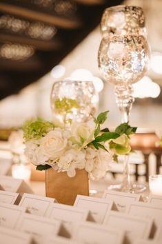 Mercury Glass Candlesticks Wedding Decor   photography by http://twobirdsphoto.com