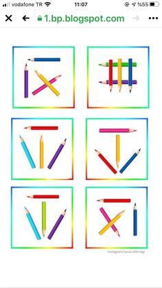 Preschool Special Education, Preschool Activities, Montessori, Thinking Skills, Educational Games, Kindergarten, Homeschool, Learning, Cards